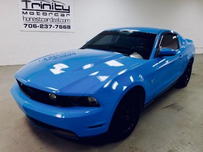 2010 Ford Mustang GT Premium (Blue,Light)