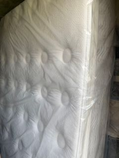 Mattress is Used- Queen Size Beautyrest Extra Firm Pillowtop 12 in Mattress with a Box Spring- Price Not Negotiable