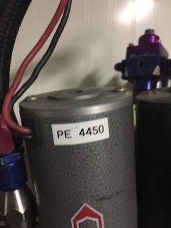 PE 4450 COMBO 460 RACING FUEL PUMP