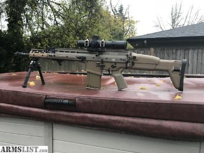 For Sale/Trade: FDE Scar 17 with lots of extras