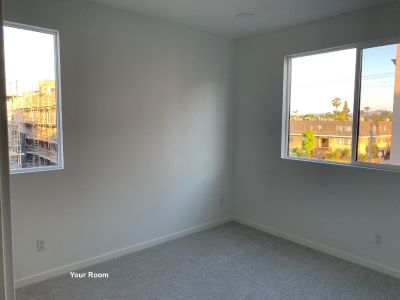 Bedroom in Brand New Townhouse in Van Nuys