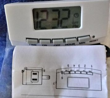 New 2 pack Plug in Thermostats puts in places where you see Temp Time N more