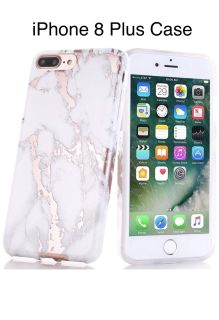 iPhone 7 and 8 Plus marble case