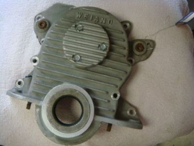 Buy ORIGINAL WEIAND FORD 289 302 351W FINNED ALUMINUM TIMING COVER W/ FUEL INJ. PUMP motorcycle in Fresno, California, United States, for US $300.00
