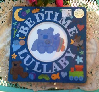 Bedtime Lullaby Hard Cover Book