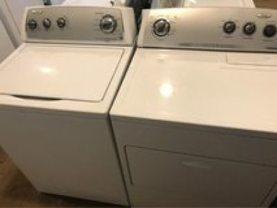 Whirlpool washer and dryer electric