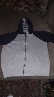 Men's size Medium Broken Threads Hooded Sweater