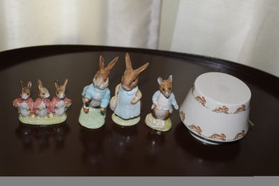 Peter Rabbit Figurines