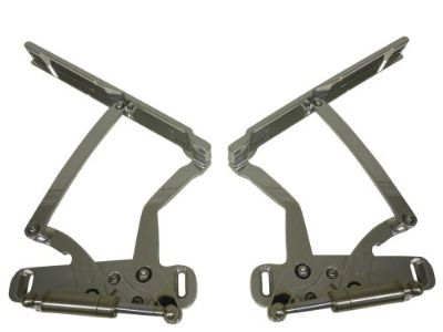 Purchase 1968 CHEVELLE EL CAMINO BILLET HOOD HINGES POLISHED. MADE IN U.S.A. motorcycle in Fullerton, California, United States, for US $593.75
