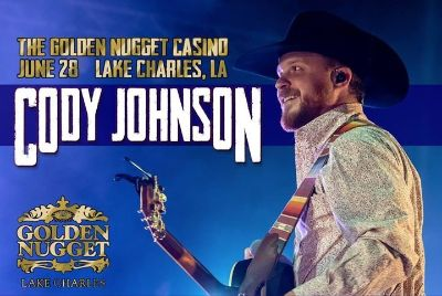 (1-2) CODY JOHNSON Concert Tickets - Friday, June 28 - Call Now!