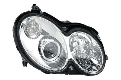 Buy Replace MB2503164 - 2003 Mercedes CLK Class Front RH Headlight Assembly HID motorcycle in Tampa, Florida, US, for US $1,116.65