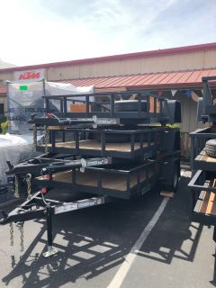 2018 Charmac Trailers 10' X 6' RUGGED STEEL UTILITY TRAILER Equipment Trailer Trailers Paso Robles, CA