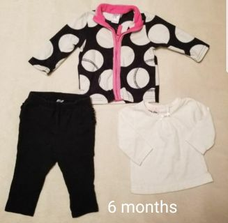 Infants size 6 month outfit