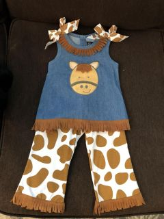 NWOT Mudpie outfit 2T/3T