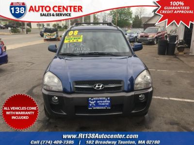 2008 Hyundai Tucson Limited V6 (Nautical Blue)