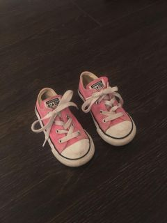 Pink toddler size 8. Used condition