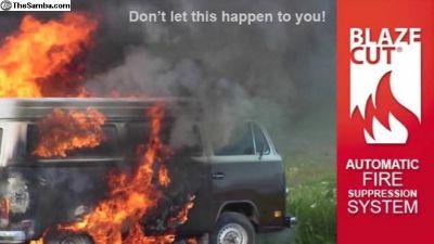 Blazecut Automatic Fire Suppression 3FT
