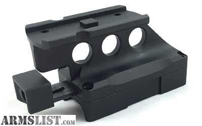 For Sale: Kinetic Development Group SIDELOK Aimpoint Micro Mount Lower 1/3 Co-Witness T1, T2, H1, H2 Models SID5-120