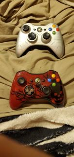 Xbox 360 special edition gears of war and halo reach controller