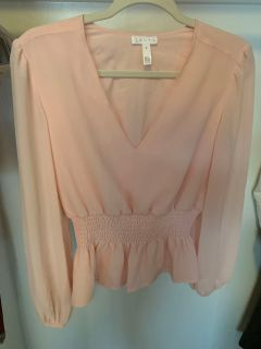 Pink Billowy blouse