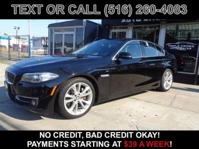 2015 BMW 5-Series 4dr Sdn 535i xDrive AWD (Black)