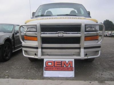Buy ALI ARC HEAVY DUTY ALIARC Front Bumper Deer PROOF Aluminum GMC Chevy Express Van motorcycle in Bluffton, Ohio, United States, for US $500.00