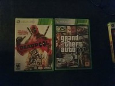 xbox 360 deadpool and GTA IV
