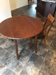 Table and 1 chair