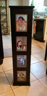 Picture frame DVD tower