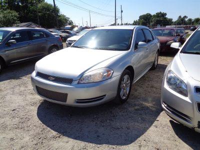2012 Chevrolet Impala LT Fleet (Silver Or Aluminum)