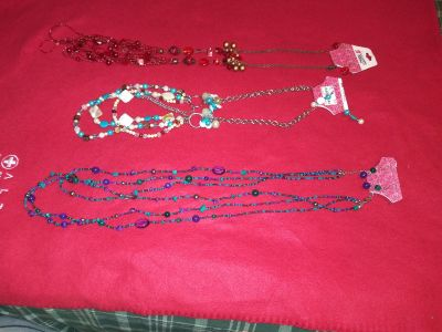 Necklaces with matching earrings