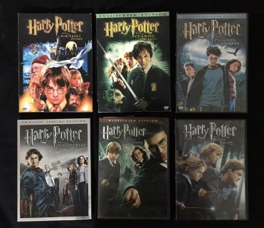 Harry Potter Movie Collection (6 of 8 movies)