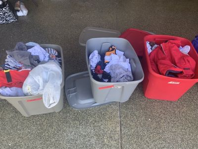 Baby boy clothes and maternity clothes