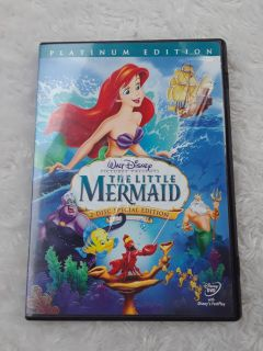 2 Disc Special The Little Mermaid DVD