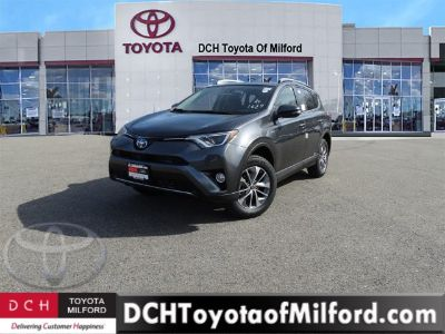 2018 Toyota RAV4 Hybrid XLE (Magnetic Gray Metallic)