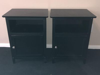 Set of Night Stands or Side Tables