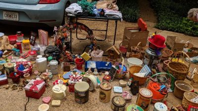Multi-family yard sale! Everything must go!