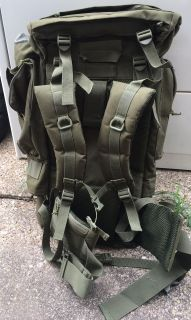 Army Green Travel/Camping/ Hiking Backpack
