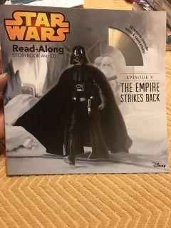 New, Star Wars read along.. episode V, The empire strikes back, with CD. $1.00