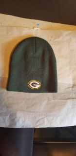 Green Bay Packers Beanie - Authentic NFL Gear - Excellent Condition