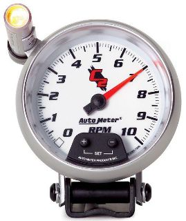 """Sell Auto Meter 7290 C2 3 3/4"""" Pedestal Mini-Monster Tachometer 10,000 RPM motorcycle in Greenville, Wisconsin, US, for US $247.22"""