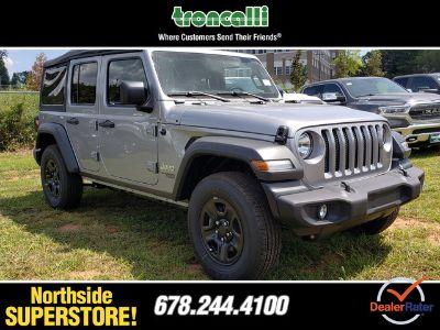 2018 Jeep Wrangler UNLIMITED (Billet Silver)