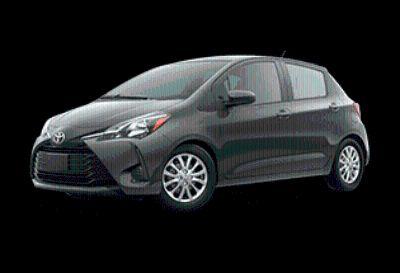 2018 Toyota Yaris 5-Door L (Magnetic Gray Metallic)