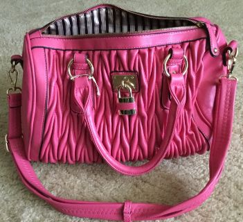 Pink shoulder bag purse
