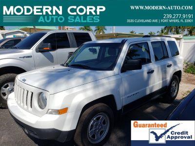 2016 Jeep Patriot Sport (White)