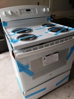 New GE electric stove