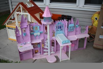 Barbie Swan Lake doll house