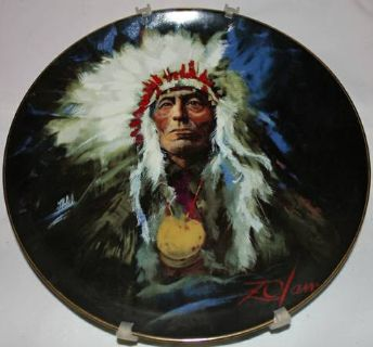 Native American Collector Plate