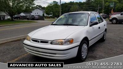 1999 Toyota Corolla CE (Super White)