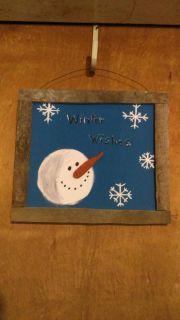 * New Item * Winter wishes sign